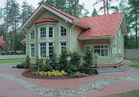 Отделка фасада в скандинавском стиле