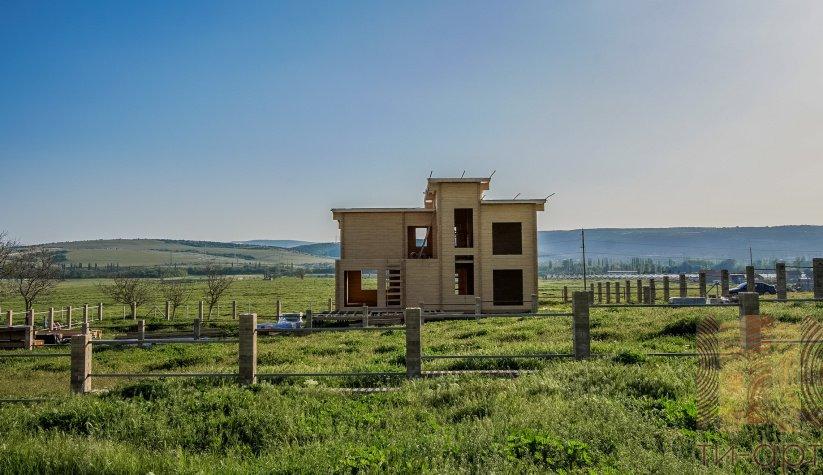 Дом по проекту Розмарин в коттеджном поселке «Крымские дачи»