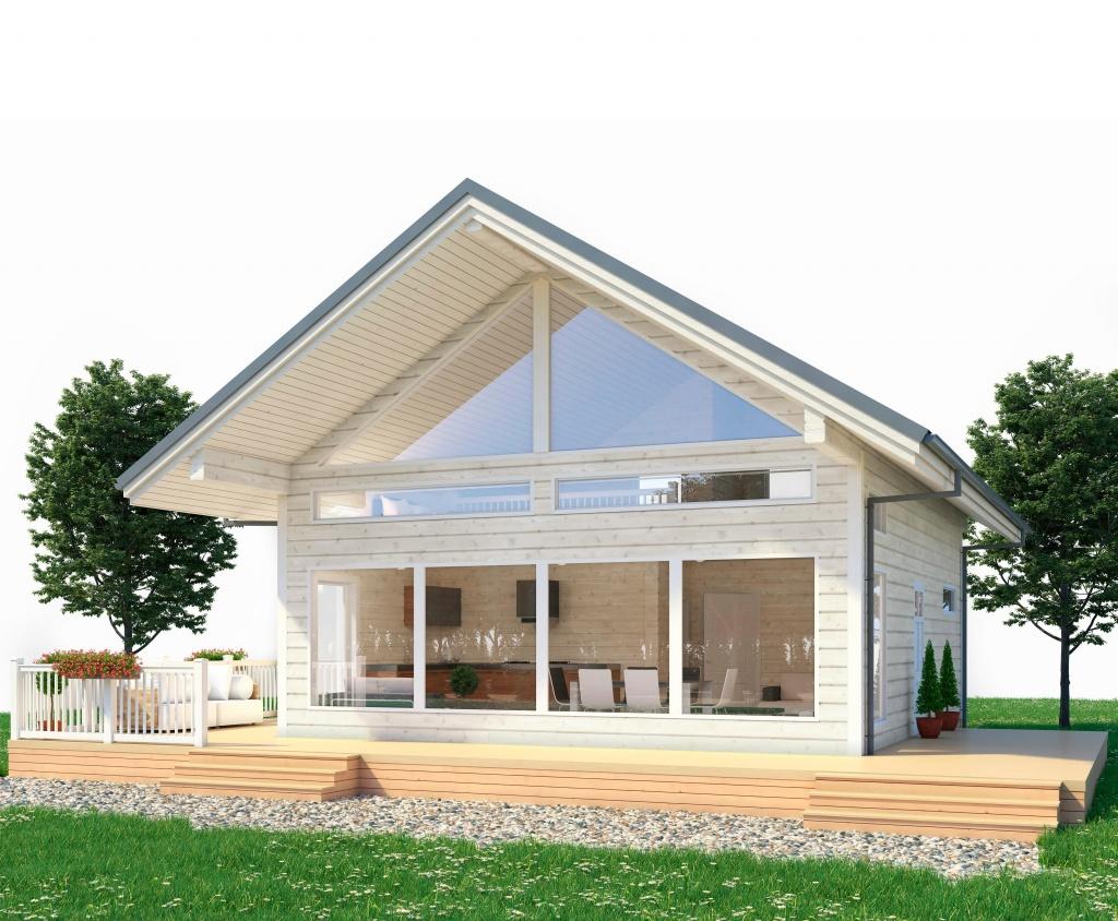 Дом по проекту Анси в Уфе