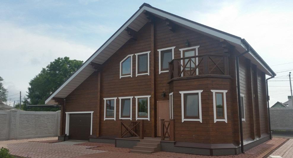Дом по проекту Соболь