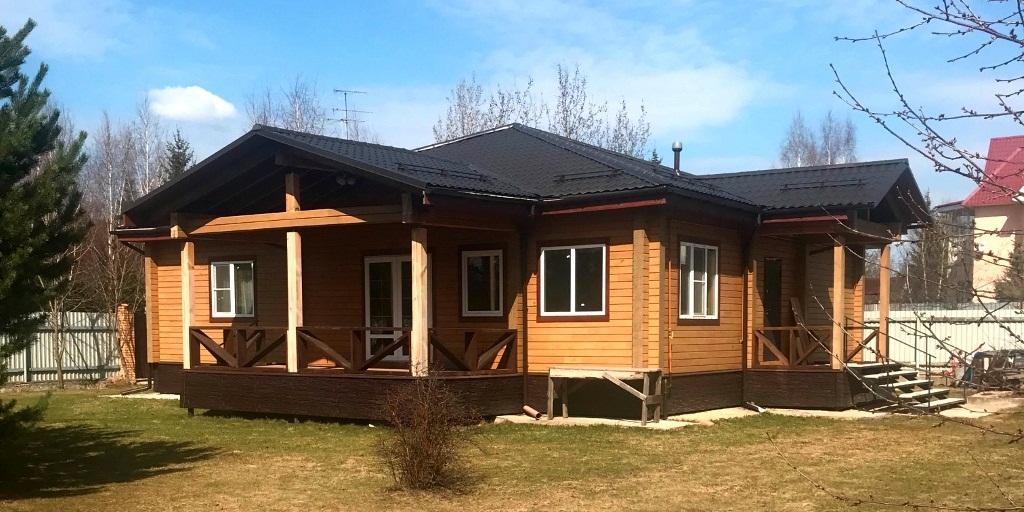 Дом по проекту Пума