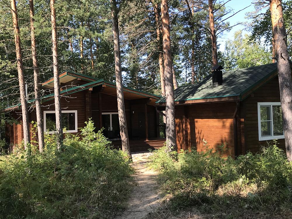 Строительство домов в Олекминском заповеднике