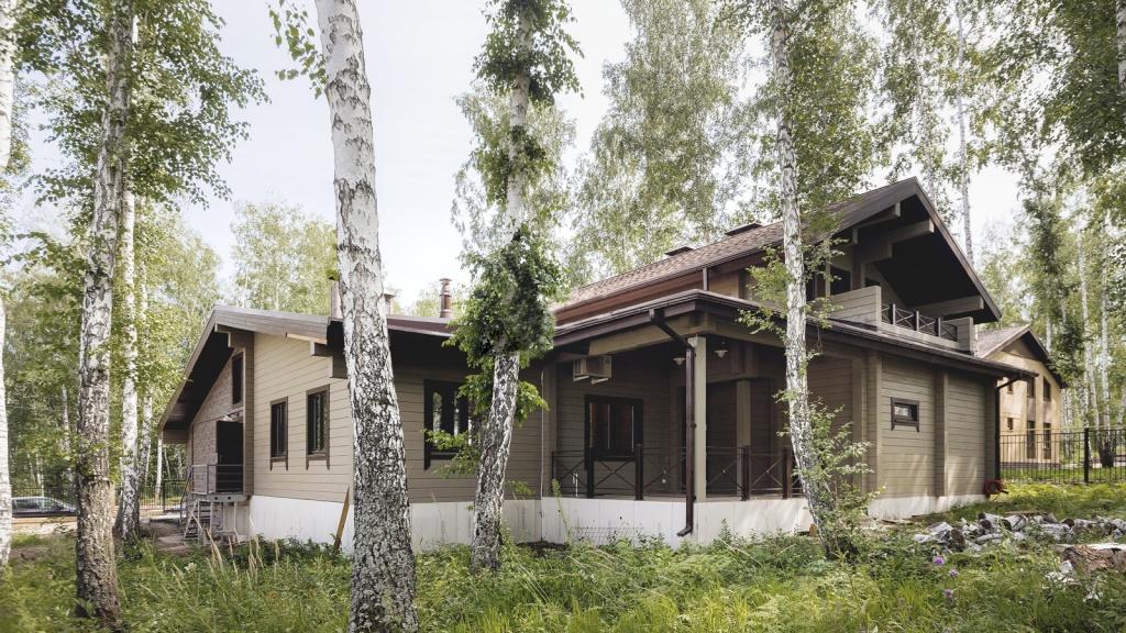 Частный взгляд на жизнь в деревянном доме